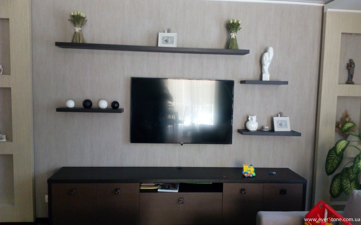 горка под телевизор фото
